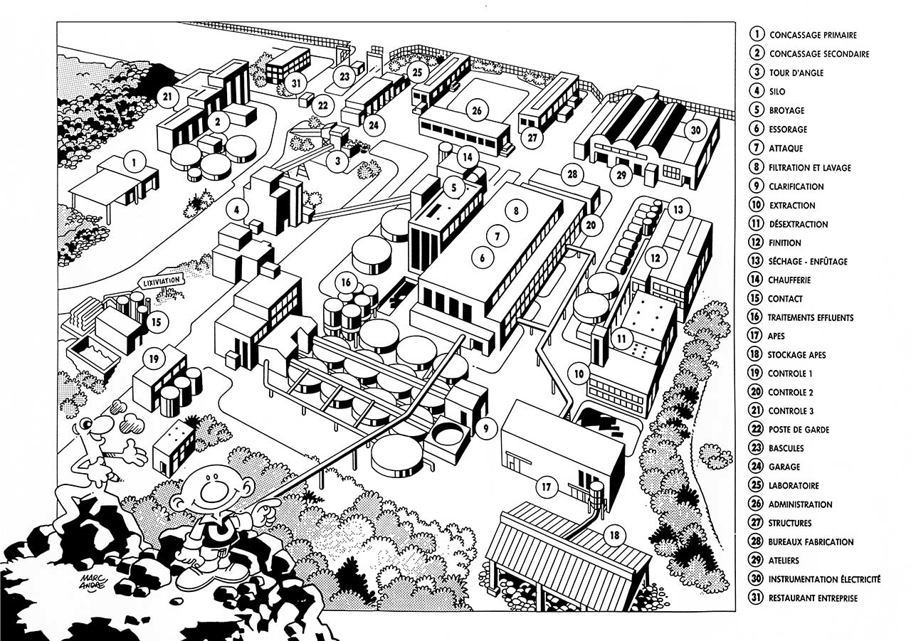 Pages 15-16 : vue de dessus