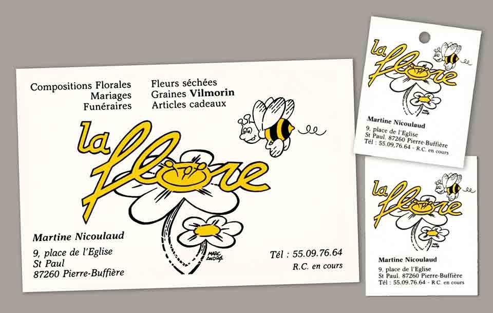 1985 Logo La Flore