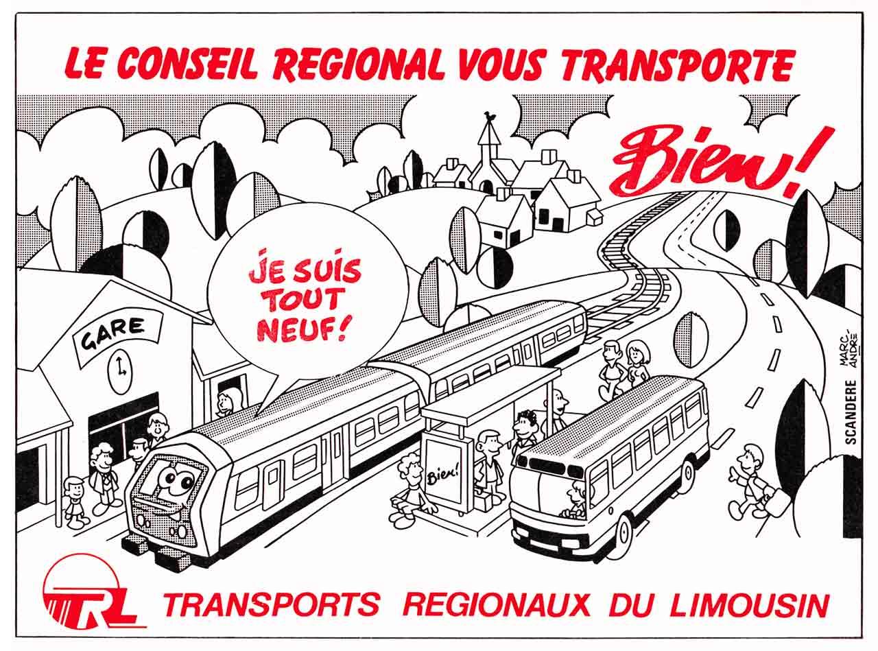 Le Conseil régional vous transporte