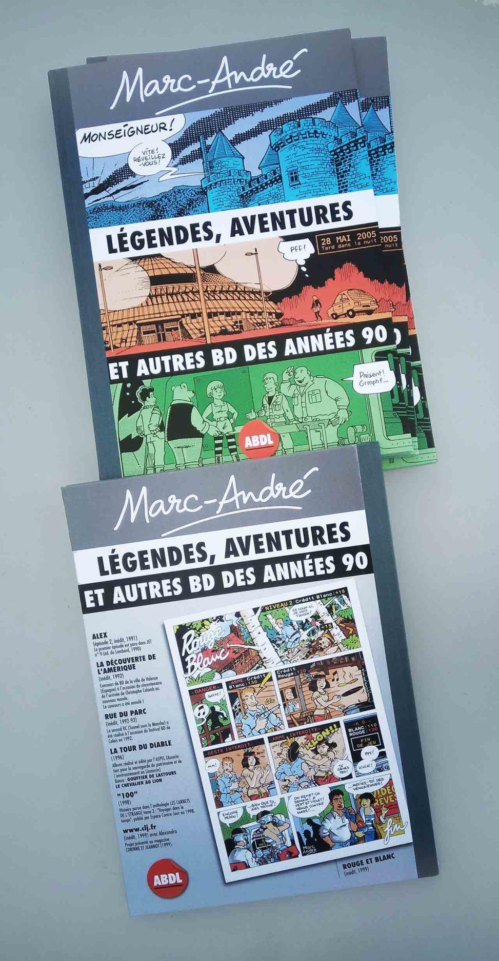 Marc-André-Légendes-aventures-et-autres-BD-des-années-90