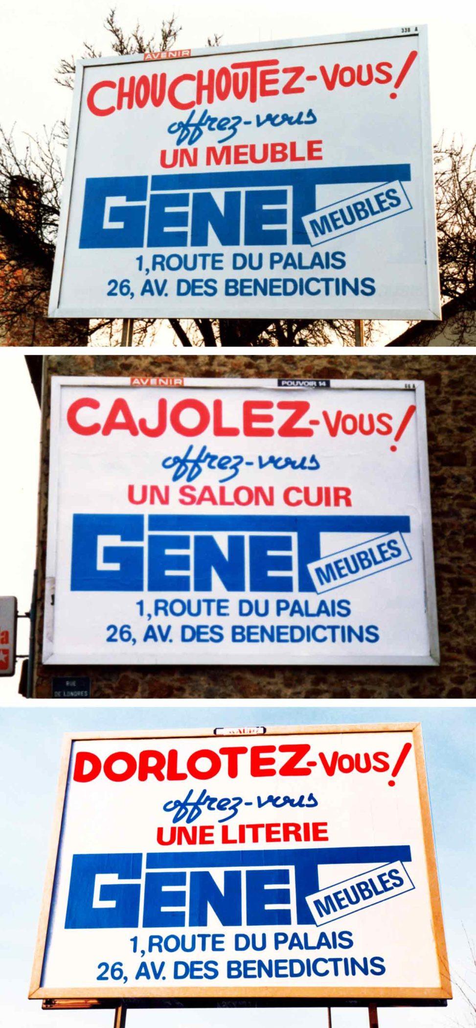 Meubles-Genet-1985-Agence Scandere-Limoges