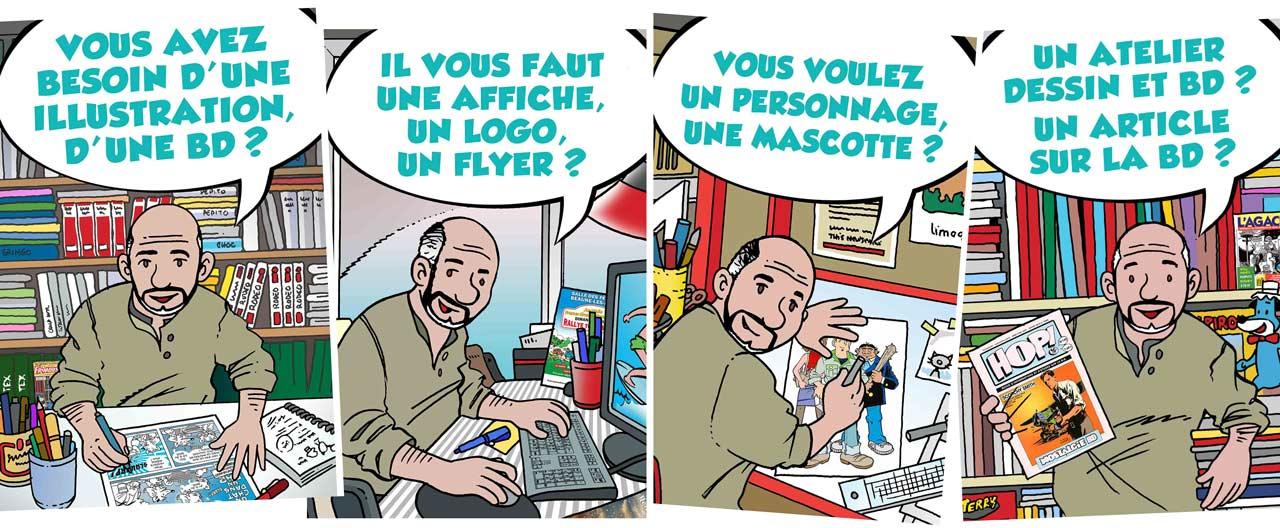 Marc-André-BD-Illustration-graphisme-articles-BD-Limoges