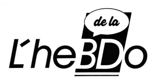 Logo L'Hebdo de la BD Bernard Marle Nice 1991-92 Marc-André