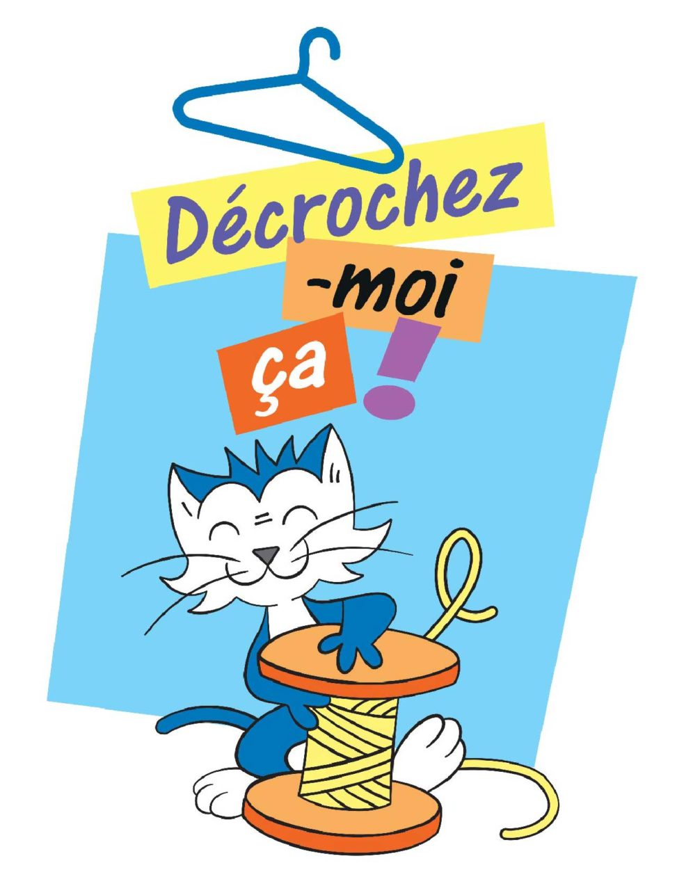 Logotype Association Décrochez-moi-ça - Marc-André BD Illustration Graphisme Limoges 2021 Bâtiment 25 tiers-lieu Marceau