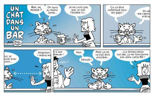 Un chat dans un bar 8 Marc-André BD Illustration Graphisme Limoges