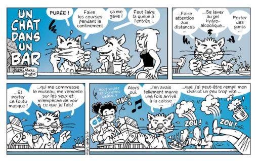 Un chat dans un bar 9 Marc-André BD Illustration Graphisme Limoges