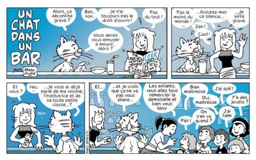 Un chat dans un bar 10 Marc-André BD Illustration Graphisme Limoges