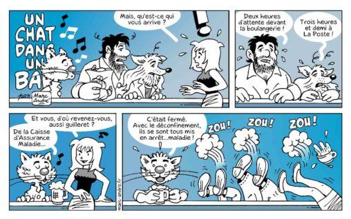 Un chat dans un bar 15 Marc-André BD Illustration Graphisme Limoges 5 juillet 2020