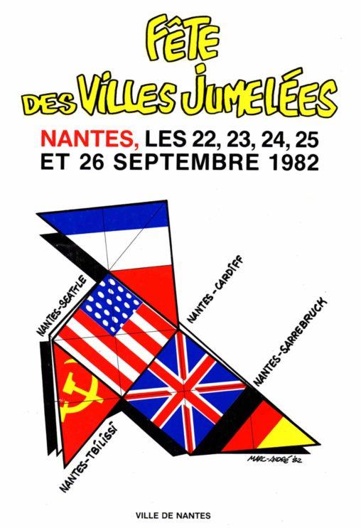 1982-Fete-des-villes-jumelées-Nantes