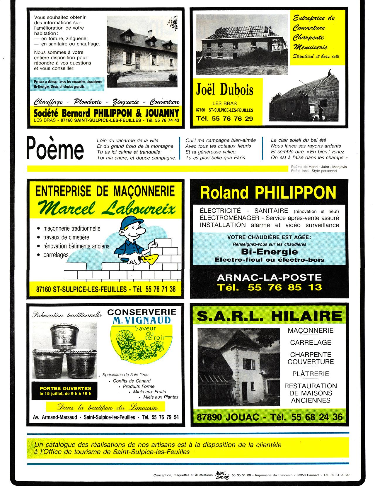 Gazette de Saint-Sulpice-Les-Feuilles-1989-95