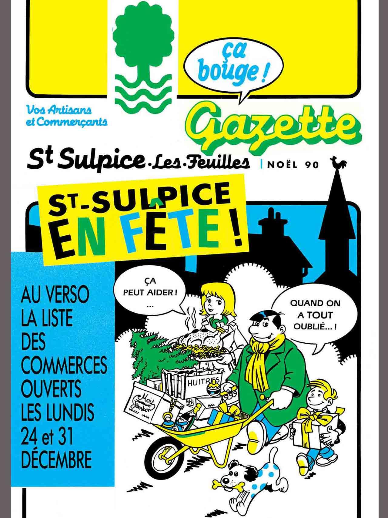 Gazette de Saint-Sulpice-Les-Feuilles-1989