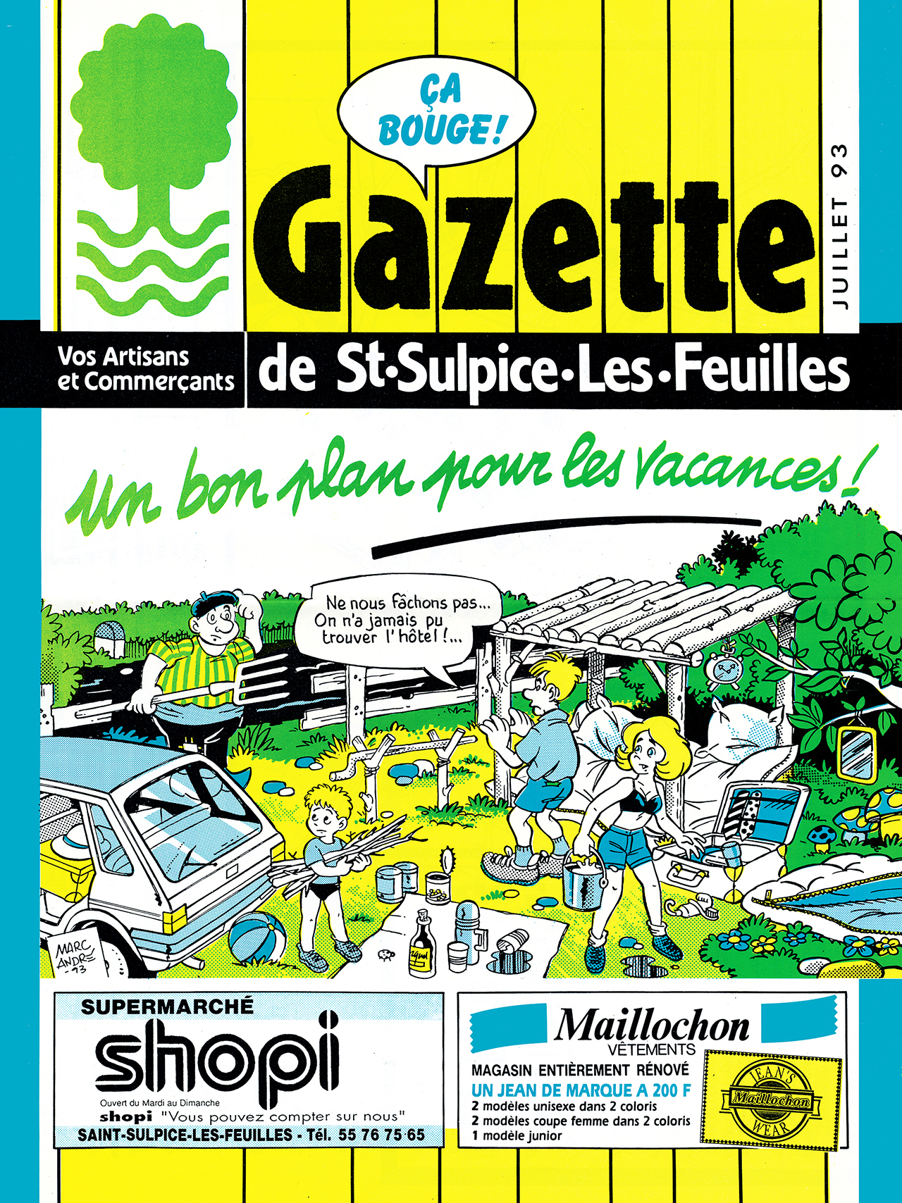 Gazette de Saint-Sulpice-Les-Feuilles-1989-95 numéro 8