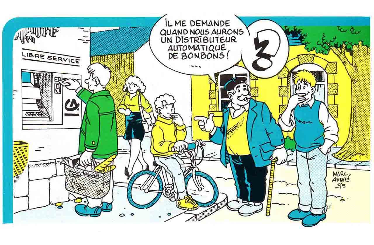 Illustration pour page 2 de La Gazette de Saint-Sulpice-les-Feuilles avril 1995