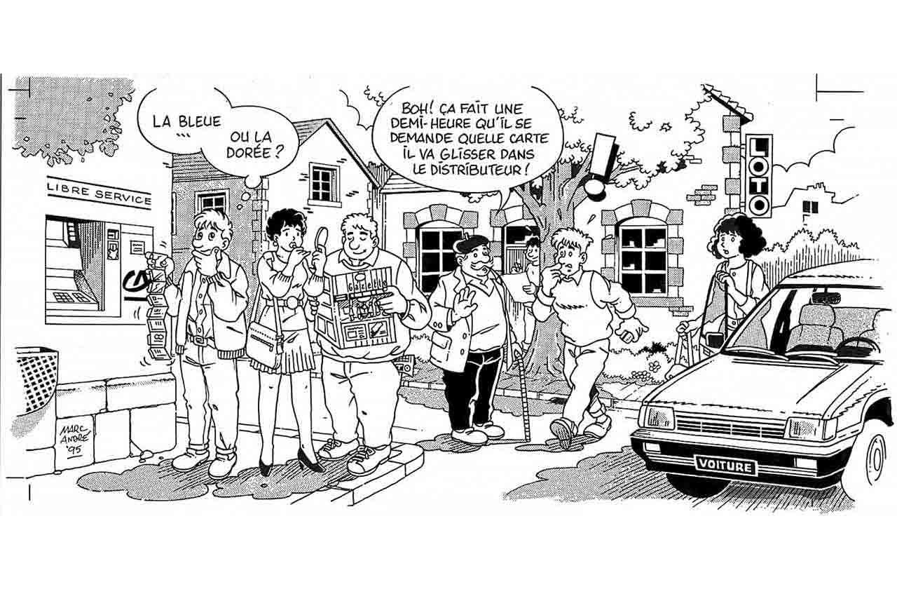 Illustration pour La Gazette de Saint-Sulpice-les-Feuilles avril 1995