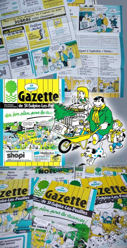 La-Gazette-de-Saint-Sulpice-les-Feuilles 1989-1995
