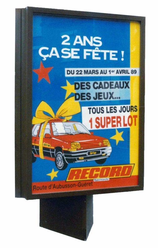 1989-Affiche Sucette-Supermarchés-Record-Agence-Scandere
