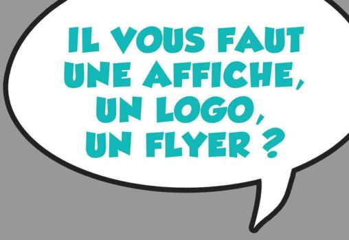 Marc-André graphiste illustrateur Besoin affiche flyer illustration BD personnage mascotte logo cartoon
