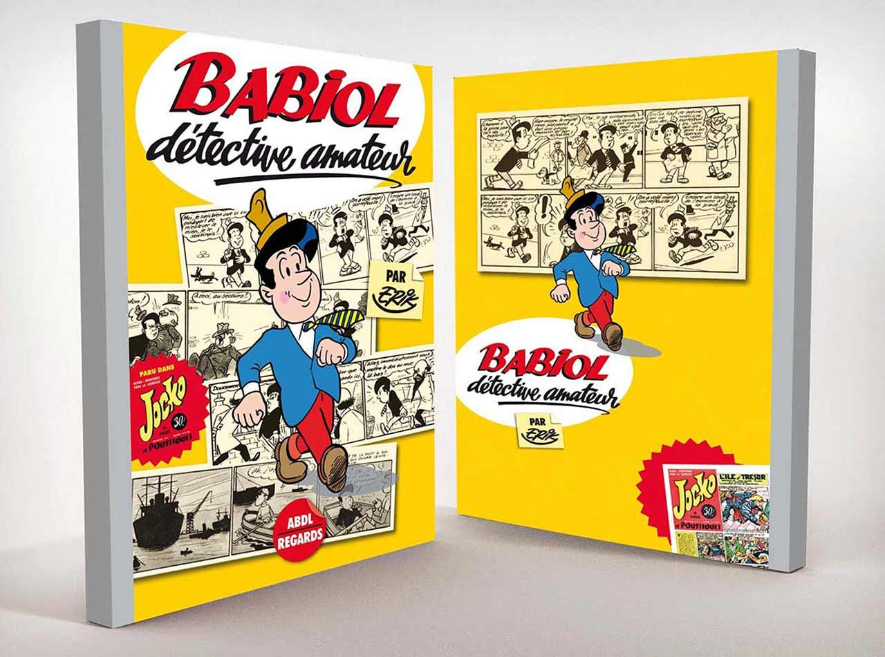 2014-Maquette-Ouvrage-BD-Babiol-de-Erik-Editions-ABDL-Limoges