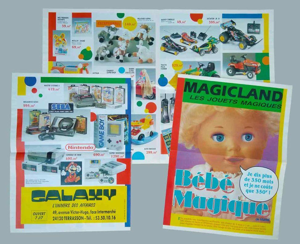 1992-Prospectus-jouets-Magicland Les jouets magiques