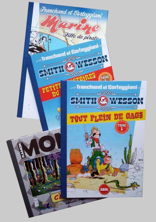 Albums ABDL Marine et Smith & Wesson Tranchand-Corteggiani et C'est pas sorcier de Monzon Pehel et Joffrain - 11 2020 Marc-André Limoges