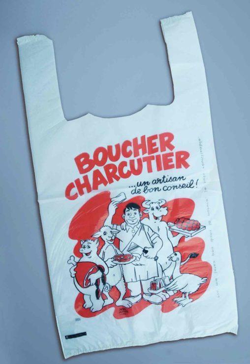 Boucher-Charcutier-sac-plastique-1995