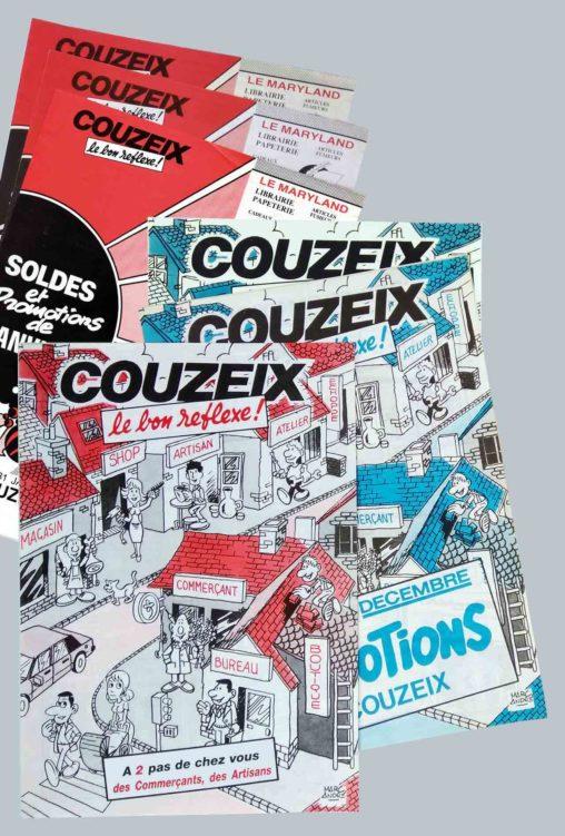 Couzeix le bon réflexe-1985-1988 Marc-André Association des commerçants et Artisans