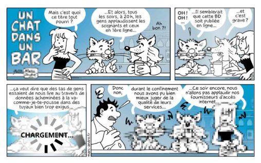 Un chat dans un bar 11 Marc-André BD Illustration Graphisme Limoges