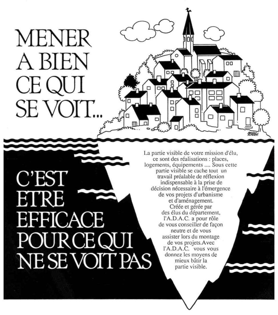 ADAC 1990 - Marc-André BD Illustration Graphisme Limoges