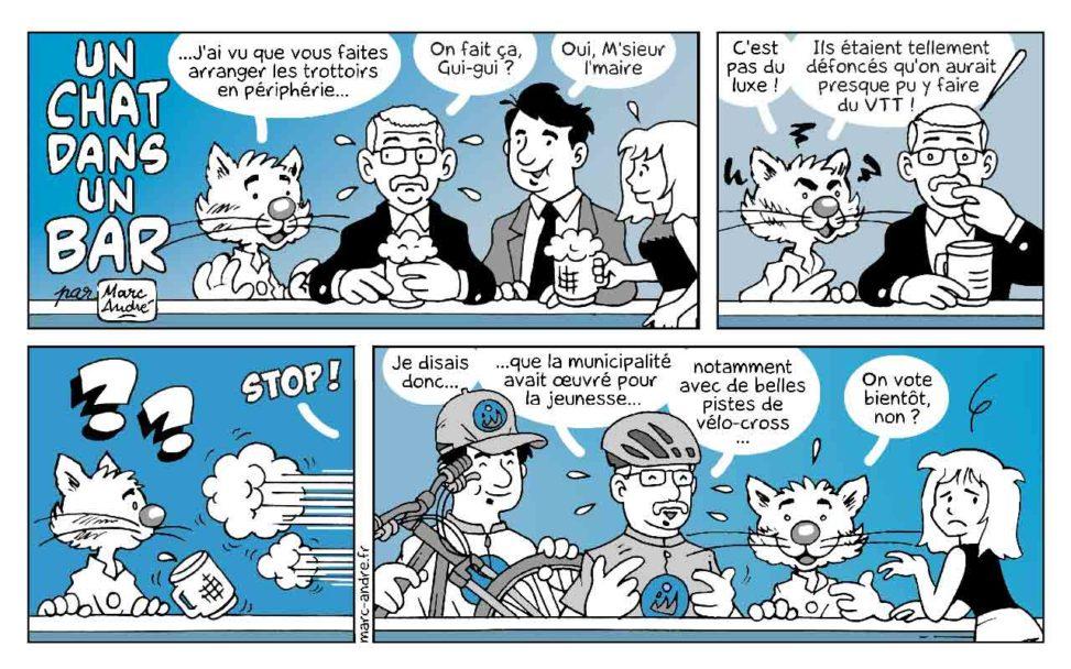 Un chat dans un bar 13 Marc-André BD Illustration Graphisme Limoges 14 juin 2020