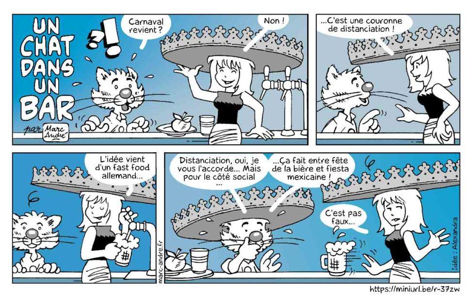 Un chat dans un bar 17 Marc-André BD Illustration Graphisme Limoges